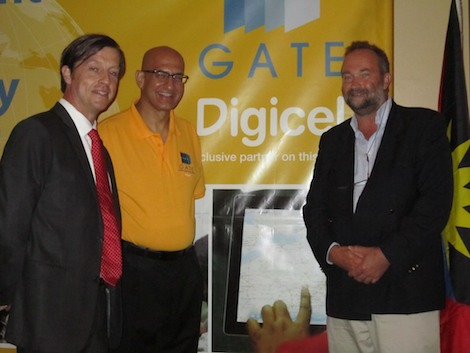 Launch presentation for the deployment of cutting-edge Fourth Generation Long Term Evolution (4G LTE) broadband in Antigua and Barbuda