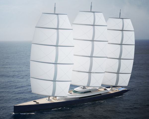 Luxury yacht concepts by Ken Freivokh and Dykstra based on