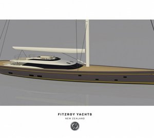 Fitzroy built and Dubois designed 50m sailing yacht OHANA (G50) to make her debut at NZ Millennium Cup