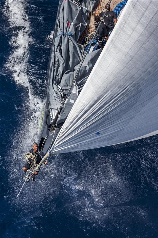 Aegir superyacht - Photo by Rolex/Carlo Borlenghi