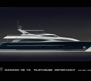 Alia 36-metre superyacht Aliyoni - Image courtesy of Warwick Yacht Design