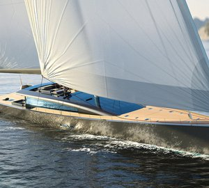 CNB 180 sailing yacht Evoë concept designed by Berret-Racoupeau