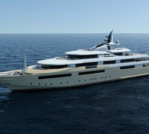7 Superyachts under construction at the CRN Shipyard