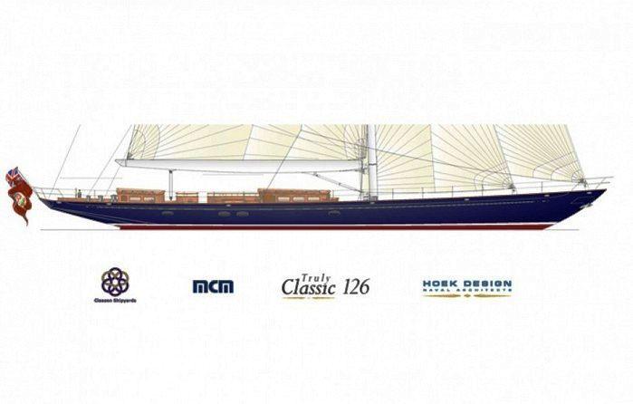 Claasen Shipyards to build new Hoek 126 ft Classic Sloop.