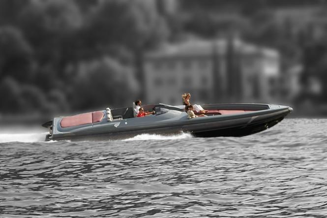 Naumatec Freccia 1200 yacht running
