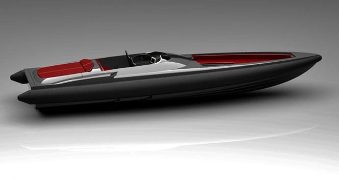 Freccia 1200 yacht tender by Naumatec