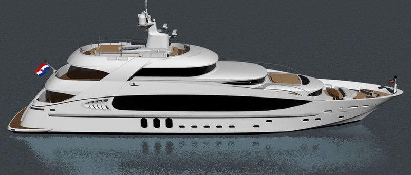 Luxury motor yacht Kaiser-45 by KaiserWerft