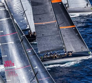 Maxi Yacht Rolex Cup 2012 attended by Hall Spars equipped yachts