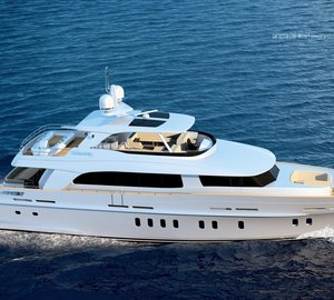 The first motor yacht Mulder 95 Voyager with delivery in 2014