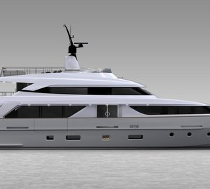 The new Sanlorenzo motor yacht SD110 with delivery in summer 2013
