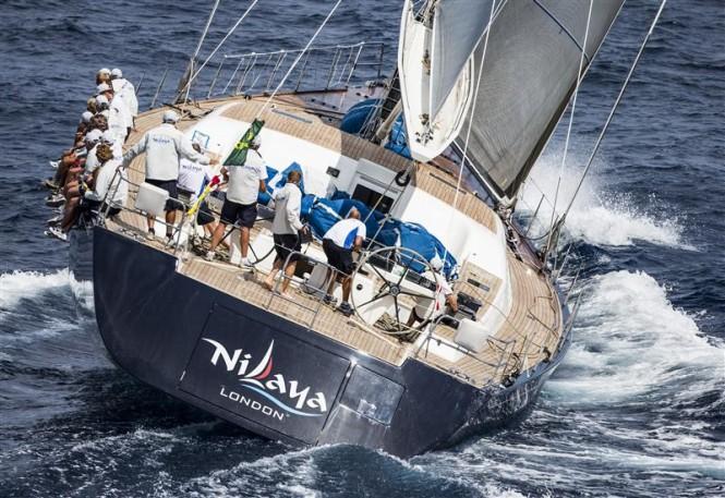 Superyacht Nilaya - Photo by Rolex/Carlo Borlenghi