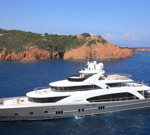La Pellegrina yacht - the largest Couach built yacht to date