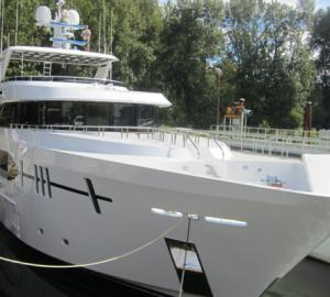 Luxury superyacht Ocean Alexander 120 launched by Christensen Shipyards