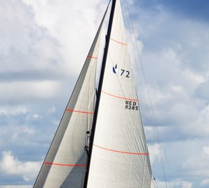 New images of the Contest 72CS yacht by Contest Yachts