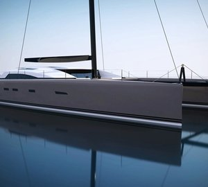 Adam Voorhees and VPLP developed 24m sailing yacht SIG80 by Le Breton Yachts unveiled at the 2012 MYS