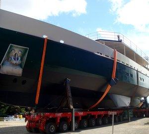 Alu Marine launches the 33m sailing yacht COSMOLEDO