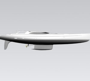 Dubois designed 44m sailing yacht ENCORE by Alloy Yachts