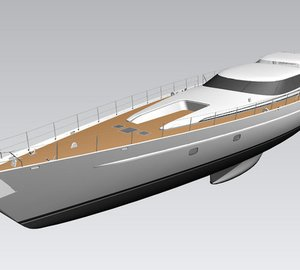 44m luxury sloop ENCORE (Project AY45) by Alloy Yachts designed by Dubois