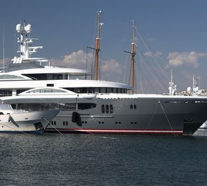 Lurssen megayacht KISMET - the largest superyacht on show at the 2012 FLIBS