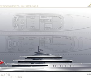 New 90m Eidsgaard Design yacht concept for Benetti Innovation Project