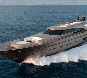 Fipa Group attending the 2012 FLIBS with AB 116 superyacht on display