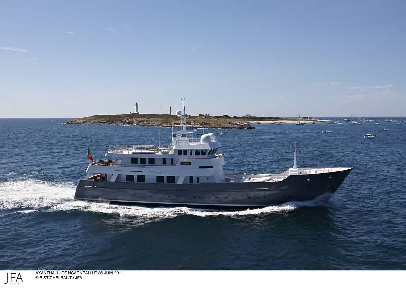 AXANTHA II yacht by JFA Yachts