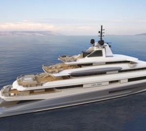 88m Motor Yacht HELIOS by Axis - Horacio Bozzo Design for Benetti Design Innovation Project