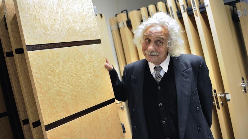 Albert Einstein visits Feadship yard