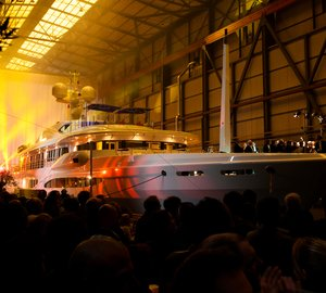 Amels LE 212 superyacht SEA RHAPSODY with interior by Andrew Winch