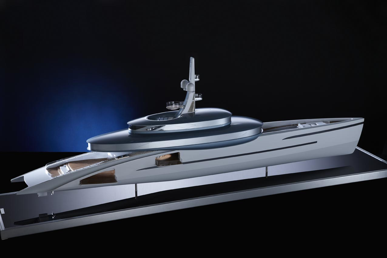 Feadship motor yacht concept RELATIVITY