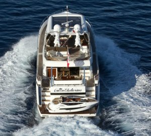 Baby Crystal custom yacht tender for the Galeon 780 Crystal motor yacht Queen Ekatierina