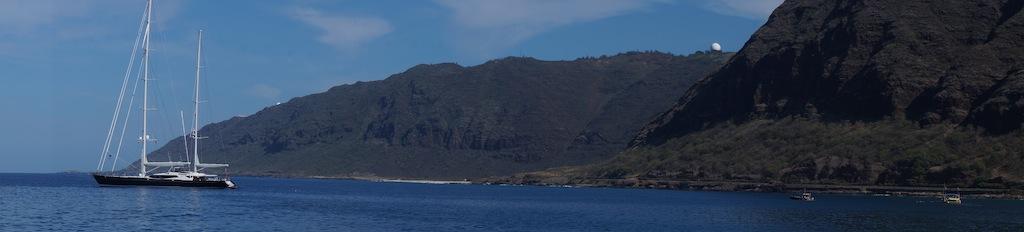 Luxury charter yacht Drumbeat in Hawaii - Photo by Flow Hearts