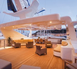 Explore Thailand and Malaysia aboard the exceptional Mondo Marine built charter yacht PRINCESS IOLANTHE