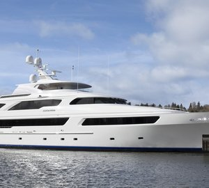 Delta to debut the 50m luxury yacht ARIANNA at the 2012 Fort Lauderdale Boat Show