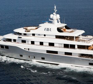 There's five decks full of entertainment aboard Caribbean charter yacht Baton Rouge