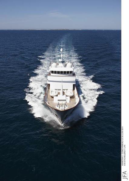Luxury superyacht AXANTHA II by JFA YACHTS