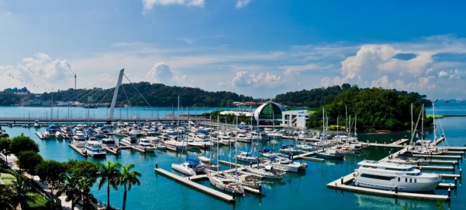 Keppel Island Singapore Restaurants