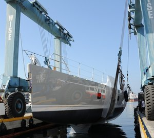 Oyster Yachts Launch PENELOPE yacht (100-2)