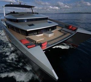 New revolutionary PANAMA 62' catamaran by Alu Marine