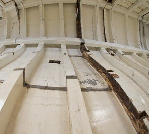 The rebuild of sailing yacht Britannia launched on Kickstarter