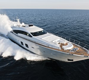 US debut for superyacht Pershing 108' and Pershing 74' yacht at the 2012 Fort Lauderdale Boat Show