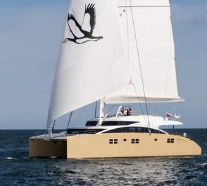New images of the Sunreef 82 DD catamaran yacht HOUBARA