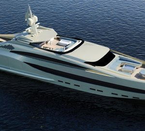 New 65m motor yacht SEA BULL concept by NEDSHIP