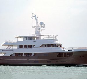 The latest 39m motor yacht CARY ALI (project AY44) by Alloy Yachts launched