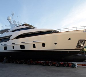 Benetti launches the Tradition 105' motor yacht SERENITY