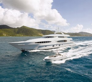 Vicem's Vulcan 46m superyacht CAPRICE V designed by Mulder Design completed sea trials