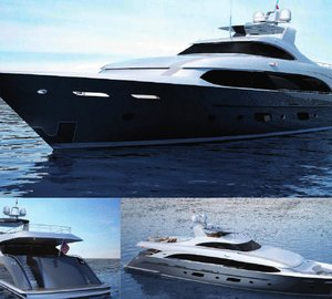 Burger Boats promotes the 140ft Erdevicki yacht design at the 2012 FLIBS