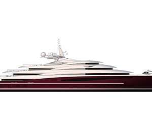 Fincantieri engineered 142m motor yacht ARMONIA concept styled by Vallicelli