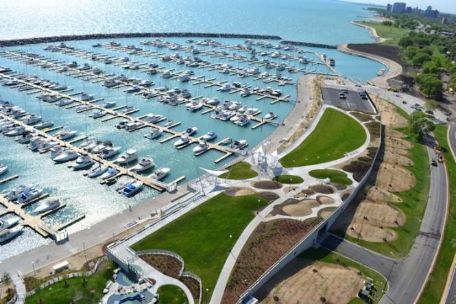 Chicago's 31st Street Harbour Superyacht Marina