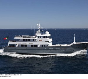 JFA expedition yacht Axantha II nominated for IY&A Award 2013